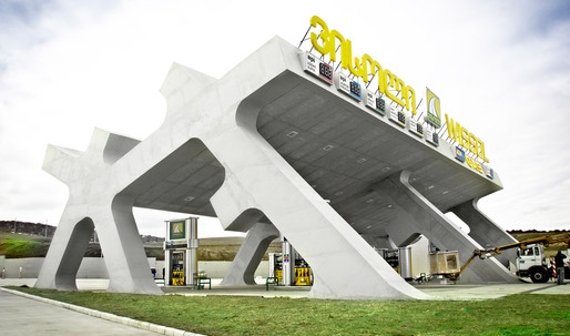 J. MAYER H. Designs a Series of Highway Rest Areas in Georgia