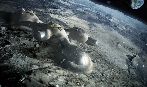 Foster + Partners works with European Space Agency to 3D print structures on the moon