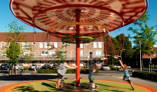 Finding playground potential in the Energy Carousel in Dordrecht