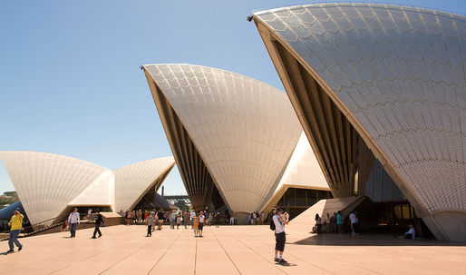Robots could soon maintain the Sydney Opera House's one million roof tiles