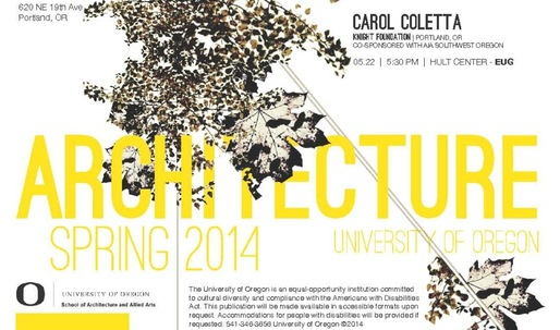 Get Lectured: University of Oregon, Spring '14