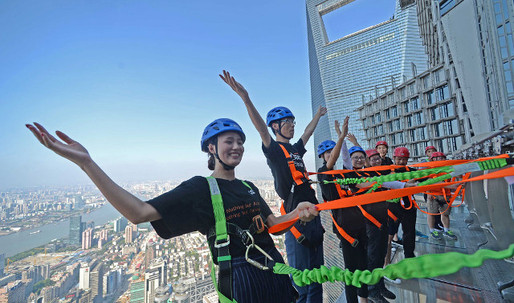 Now THAT's a skywalk! Jin Mao Tower to open world's highest fenceless, all transparent walkway in Shanghai