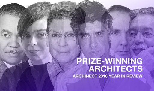 The top prize-winning architects of 2016