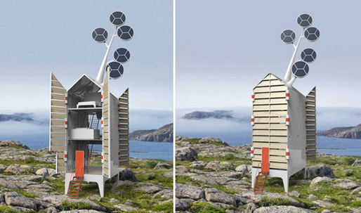 Sustainable Holiday Home by Tjep   Isolée
