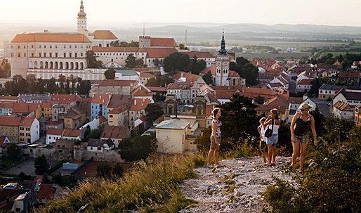 Moravia's architectural landscape