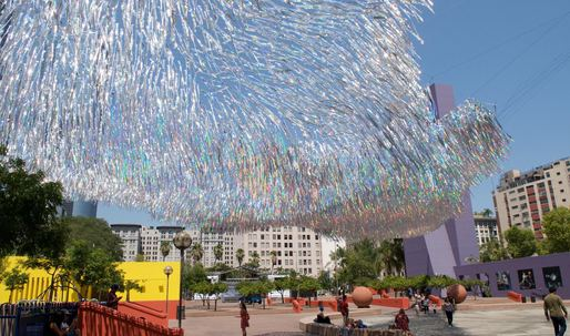 The students behind 'Liquid Shard' – a dynamic sculpture for downtown Los Angeles