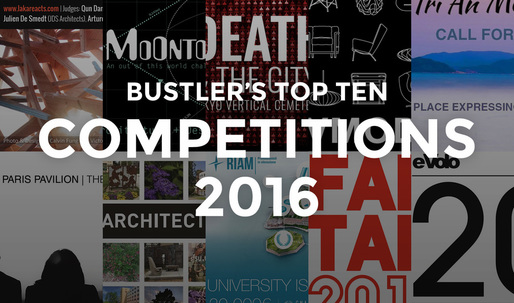 The top architectural competitions in 2016 on Bustler