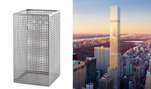 A Trashcan Inspired the Design of Rafael Viñoly's 432 Park Avenue