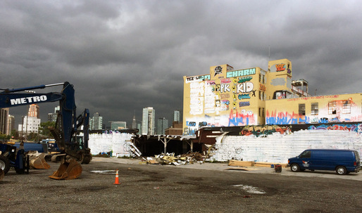 The Demolition of 5 Pointz Has Begun