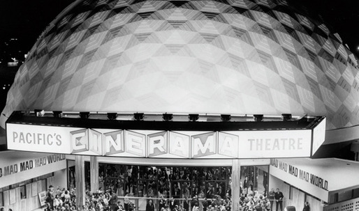 Welton Becket-designed Hollywood Cinerama Dome Marks 50 Years