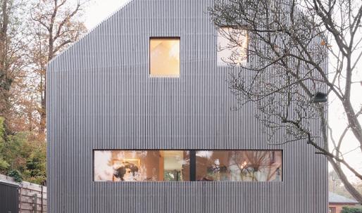 The Marly House employs neighborly design strategies