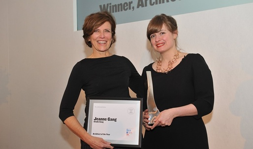 Jeanne Gang wins Architect of the Year in 2016's Women in Architecture Awards
