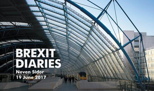 Brexit Diaries: Neven Sidor of Grimshaw, 19 June 2017