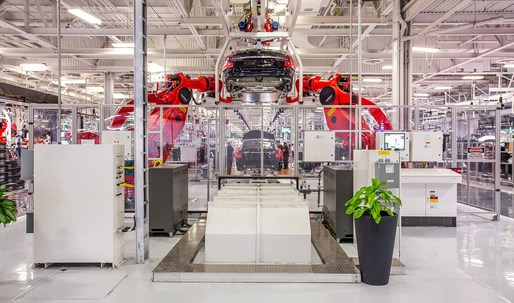 Wired takes a look inside Tesla's car factory of the future
