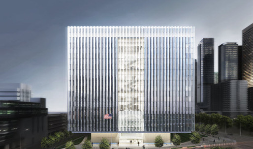 LA Federal Courthouse under construction