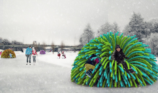Warming Huts Competition v. 2014 winners