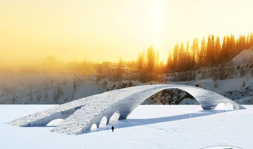Rejected Leonardo da Vinci design will finally come to life as world's longest ice bridge
