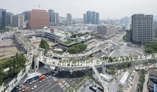 Koreas High Line, the MVRDV-designed Skygarden, opens in Seoul