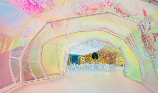 """SelgasCano's """"psychedelic chrysalis"""" Serpentine Pavilion is now open"""