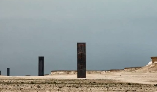 Richard Serra engages with the Qatari desert landscape in his new sculptural piece