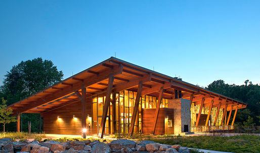 Winning projects of the 2014 U.S. Wood Design Awards