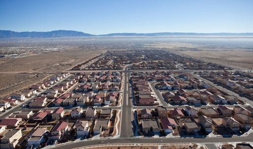 In the midst of historic drought, Barclay's plans a residential development in New Mexico's desert