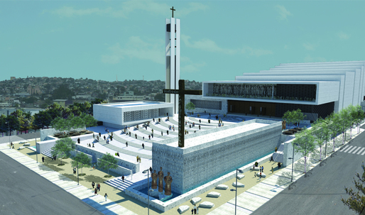 Design for Tijuana Cathedral nixed for not looking like a cathedral