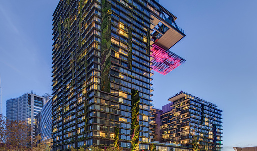 Ateliers Jean Nouvel's One Central Park wins CTBUH Best Tall Building Worldwide 2014