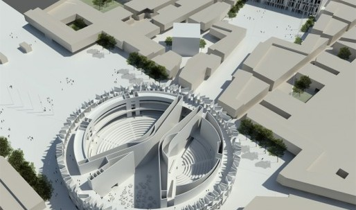 Its Official: Zaha Hadid will design the Iraq Parliament, regardless of the fact she came 3rd in the competition