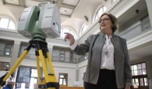 El Paso, laser scanned in 3D