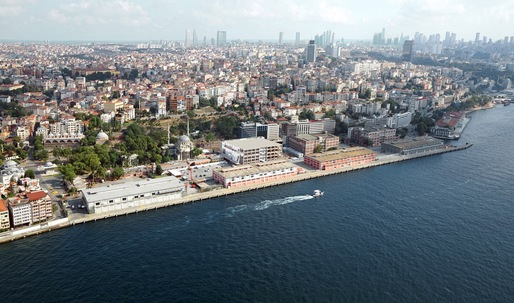 Dror and Gensler propose underground cruise operation for Istanbuls Galataport masterplan