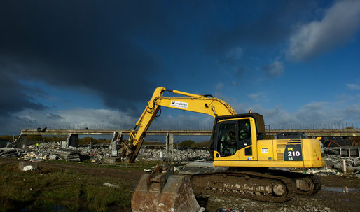 Demolishing the ghosts of a housing crash
