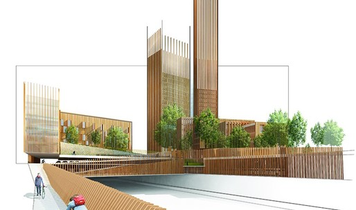 """Rise of the wooden skyscrapers: """"Where all you need is a giant allen key to put it together."""""""