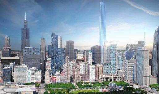 Will the Willis Tower lose its claim to being the tallest building in Chicago?