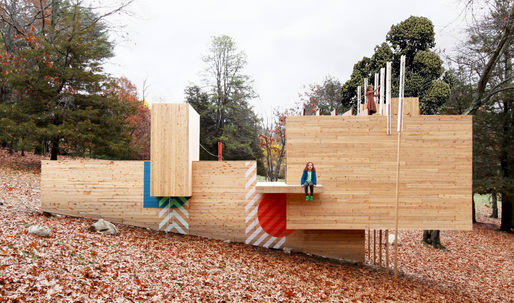 Matter Designs Five Fields Play Structure Reinvents the Purpose of Play