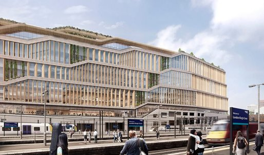 A surprisingly classical look for Googles London HQ from Heatherwick Studio + BIG