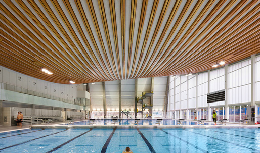 Grandview Heights Aquatic Centre and Herzog & de Meuron are among this week's winners