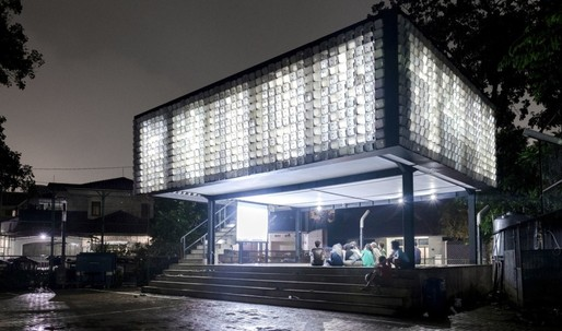I scream you scream we all scream for this Indonesian library made out of 2,000 recycled ice cream buckets