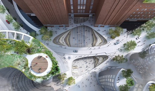 First images of BIG's Malaysia Square in London's Battersea Power Station