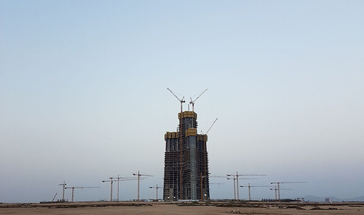 Completion of Jeddah Tower, the worlds tallest building, pushed back to 2019