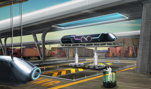 Bjarke Ingels Group + AECOM join forces with Hyperloop