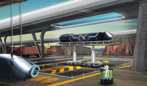 Bjarke Ingels Group + AECOM join forces with Hyperloop