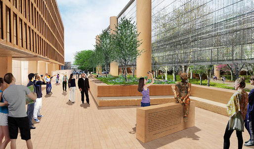 Revised design for the Eisenhower memorial released