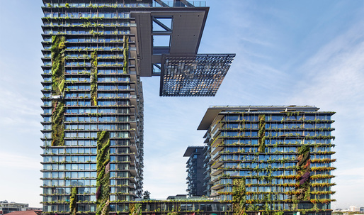 Ateliers Jean Nouvel + PTW Architects' award-winning One Central Park in Sydney, Australia