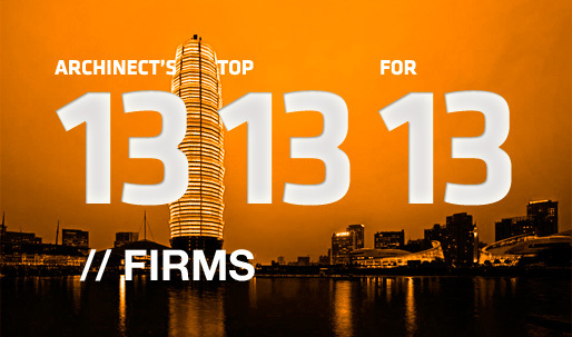Archinects Top 13 Firms for 13