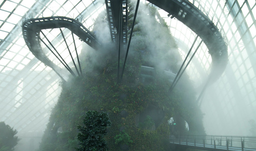 Cooled Conservatories, Gardens by the Bay wins 2013 RIBA Lubetkin Prize