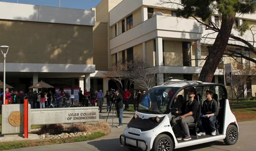 This startup hopes to bring autonomous campus shuttles to colleges by 2017