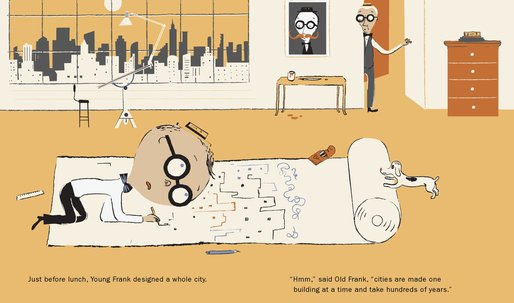 """MoMA releases """"Young Frank, Architect"""" storybook"""