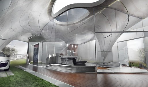 """Curve Appeal"" will be globes first Freeform 3D printed house"