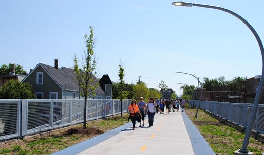 "Locals welcome The 606, a.k.a. Chicago's ""High Line"", but anxiety for its future remains"